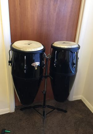 LP Congas jr Fiberglass extremely light and portable for Sale in Clermont, FL