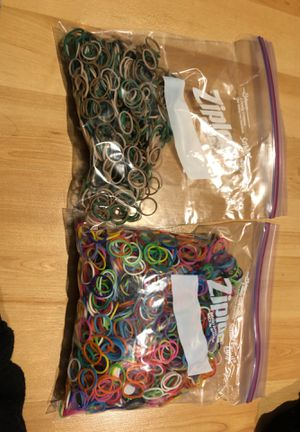 Rainbow Loom Rubber Bands for Bracelets for Sale in San Jose, CA