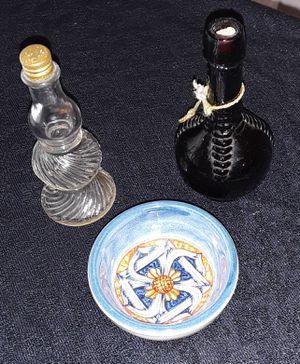 antique miniature bottles & bowl for Sale in Slidell, LA