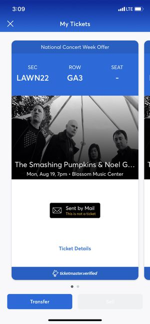 Smashing Pumpkins tickets for Sale in Westerville, OH