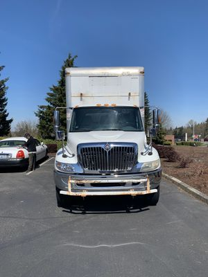 2007 international 4300 with 49k original miles 26ft box truck for Sale in Renton, WA