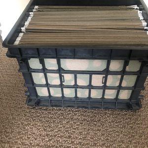 Plastic Folder Case With 45 Folders for Sale in La Mesa, CA
