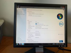 Windows7 Dell Computer (CPU, Monitor, Key Board, Mouse) for Sale in Germantown, MD