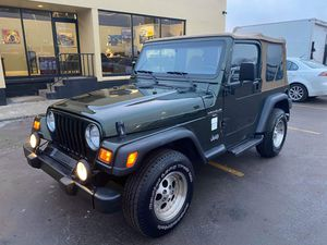 1998 Jeep Wranger Sport/ TJ Soft Top 4.0L I6 4X4 Manual Trans for Sale in Elmhurst, IL