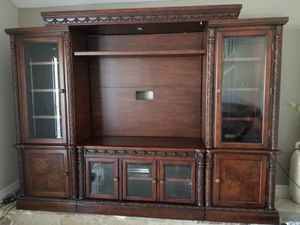 Entertainment center/tv stand for Sale in Mesquite, TX