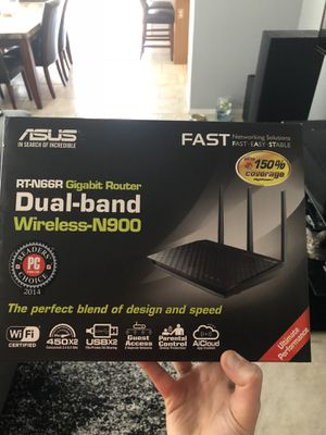 Asus RTN66R Wireless Router. Mint condition for Sale in Glendale, AZ