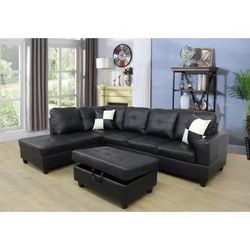 2Pc Sectional With Ottoman For Only $699.99‼️‼️ for Sale in Riverside,  IL