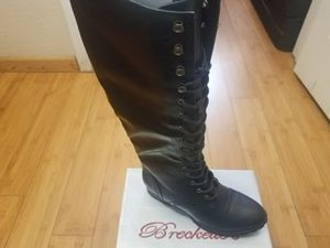 Breckelles Combat Boots size 5.5 and 6 for women for Sale in Paramount, CA