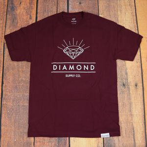 Diamond Supply Co T-shirt / Large Size/ Red Color/ Short Sleeve for Sale in Pasco, WA