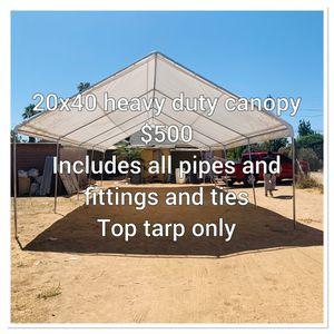 20x40 heavy duty canopy for Sale in Whittier, CA