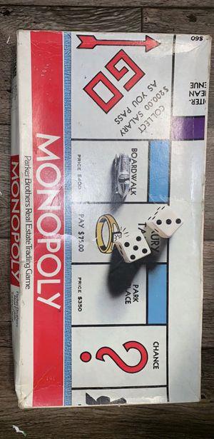 Vintage Monopoly Game for Sale in Salt Lake City, UT