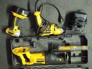 Dewalt tool kit OBO for Sale in Nine Mile Falls, WA