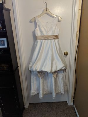 JR FLOWER GIRL DRESS/SHOES for Sale in Denver, CO