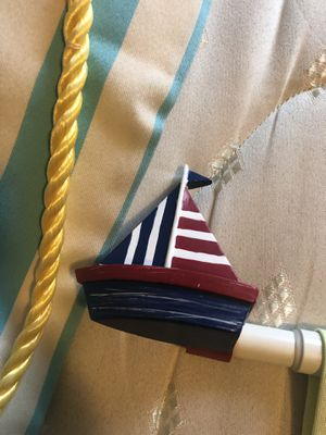 Sailboat curtain rod for Sale in Pflugerville, TX