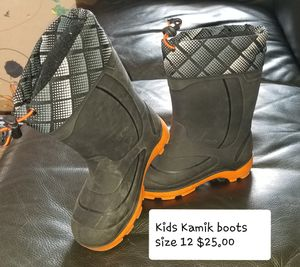 Kids Kamik snow boots for Sale in Springfield, TN