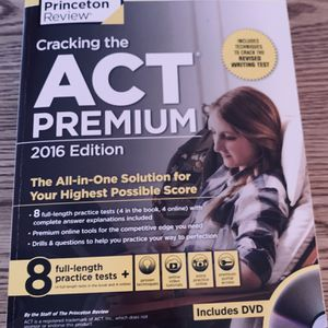 Princeton Review Cracking The ACT PREMIUM for Sale in Albuquerque, NM