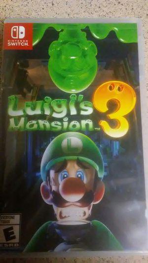 Luigi's Mansion 3 Nintendo switch for Sale in Phoenix, AZ