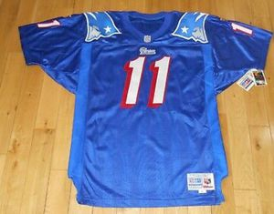 Wilson Proline DREW BLEDSOE NEW ENGLAND PATRIOTS Authentic NFL Team JERSEY Sz 48 for Sale in Boston, MA