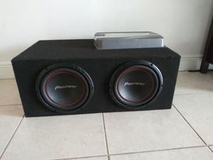 Car Audio Speakers amp equipo de musica para carro for Sale in Miramar, FL