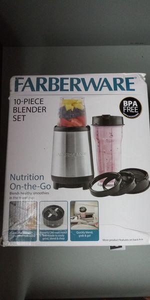 FARBERWARE 10pc Blender Brand New $5 for Sale in Milwaukie, OR