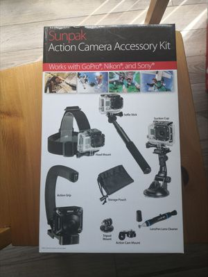 Action camera kit for gopro etc. for Sale in Durham, NC