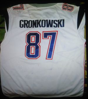 Official NFL Gronkowski jersey New England Patriots for Sale in Bakersfield, CA