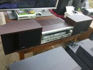 Vintage Onkyo TX-2500MKII with Bose 201 speakers for Sale in Washington, DC