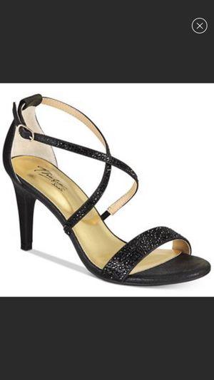 Thali Sodi black shimmering heels for Sale in Clovis, CA