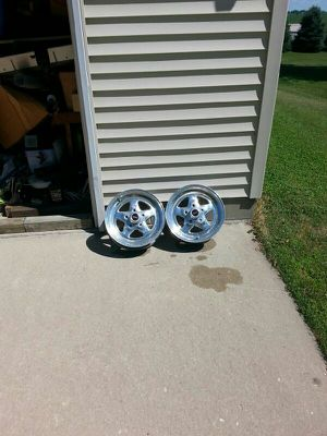 Weld pro star wheels for Sale in Evansdale, IA