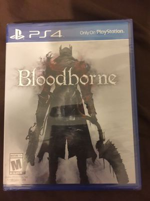 Bloodborne ps4 sealed original label for Sale in Hayward, CA