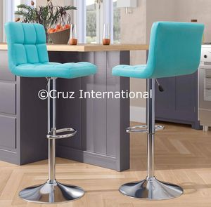 New 2 turquoise stools for Sale in Orlando, FL