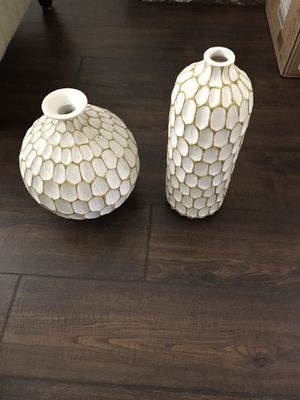 Polystone Vase Home decor for Sale in Industry, CA