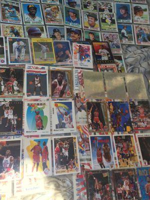 Basketball & baseball cards ..Jordan's ,magic ,larry bird,Barry bonds ,Nolan rayan etc for Sale in Alhambra, CA
