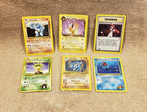TONS OF ANIME MANGA POKEMON POWER RANGERS PLAYING AND COLLECTIBLE TRADING CARDS for Sale in Tucson, AZ