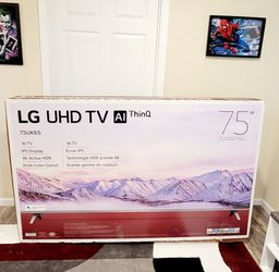 """LG 4K 75"""" TV With Active HDR - Like New for Sale in Columbia,  MO"""