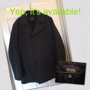 Michael Kors men's wool jacket XL for Sale in Sterling, VA