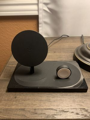 Wireless charger for iPhone and watch with 1 USB port for Sale in Sun City, AZ