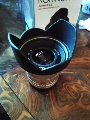 Rokinon 12mm f2.0 lens for Sony E Mount for Sale in Anaheim, CA