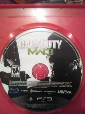 Call of Duty Modern Warfare and Battlefield 3 Playstation 3 for Sale in Tampa, FL