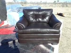 NEW ESPRESSO SOFA CHAIR for Sale in Hesperia, CA