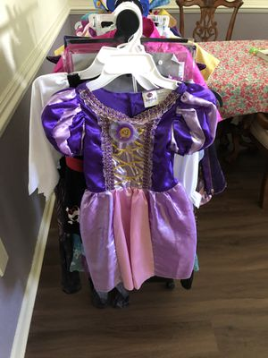 Girls Costume Rapunzel, 4-6x for Sale in Kissimmee, FL