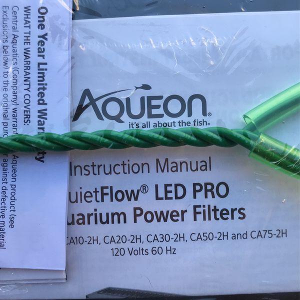 Aqueon Quiet Flow LED PRO Aquarium Power Filter