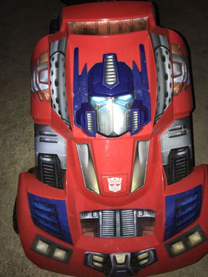 Optimus Prime Transformer Pedal Cart for Sale in San Antonio, TX