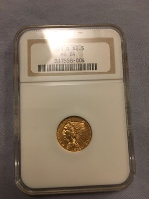 1925 D 2.5 Dollar Gold Coin for Sale in OR, US