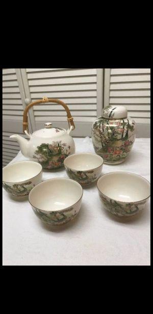 Oriental tea set for Sale in Alexandria, VA