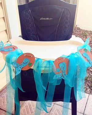 Mermaid bday banner for Sale in Saint Petersburg, FL