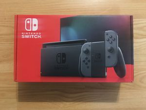 Nintendo Switch Console w/ Gray Joy-Con - Brand New, Factory Sealed for Sale in Arlington, TX