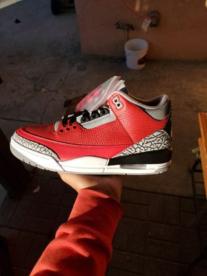 Jordan 3 Fire Red Cement for Sale in Los Angeles, CA