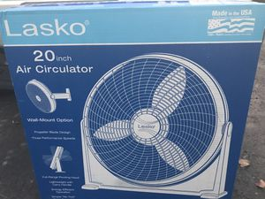 "Lasko 20"" Air Circulator Brand New (1) Left $25 You Must Pickup . Price is firm for Sale in New Ringgold, PA"