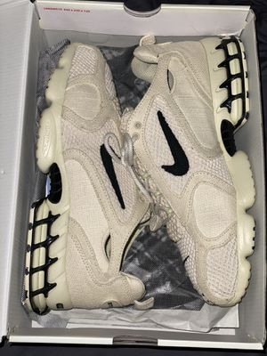 Nike stussy spiridon caged fossil for Sale in Charlotte, NC